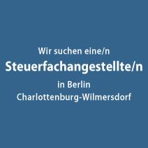 Wir suchen Sie! Steuerfachangestellte/r in Berlin-Wilmersdorf